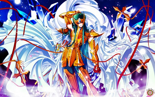 Shiori Teshirogi, TMS Entertainment, Saint Seiya: The Lost Canvas, Aquarius Degel Wallpaper