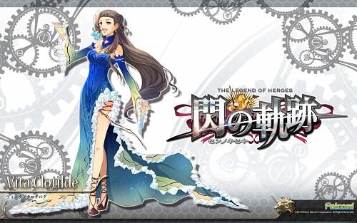 Falcom, The Legend of Heroes: Zero no Kiseki, Vita Clotilde, Official Wallpaper