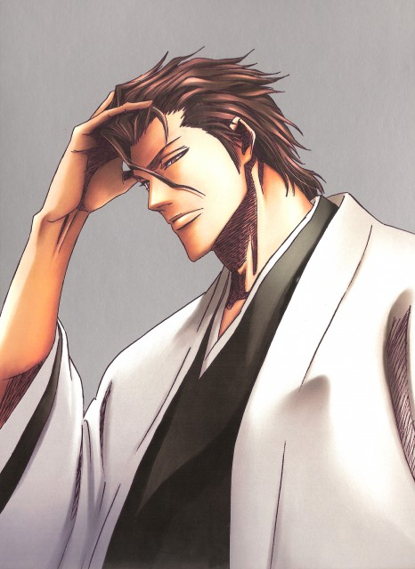 Studio Pierrot, Bleach, Sousuke Aizen, Album Cover, DVD Cover