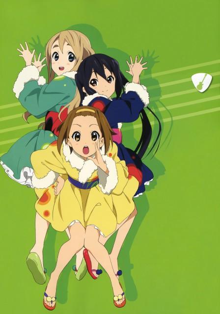 Kakifly, Yukiko Horiguchi, Kyoto Animation, K-On!, Azusa Nakano