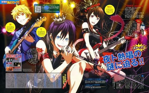 Miwa Kazuhiro, BONES, Noragami, Hiyori Iki, Yukine (Noragami)