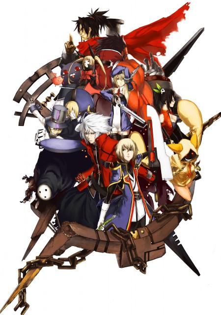 Blazblue, Ragna the Bloodedge, Rachel Alucard, Jin Kisaragi, Taokaka
