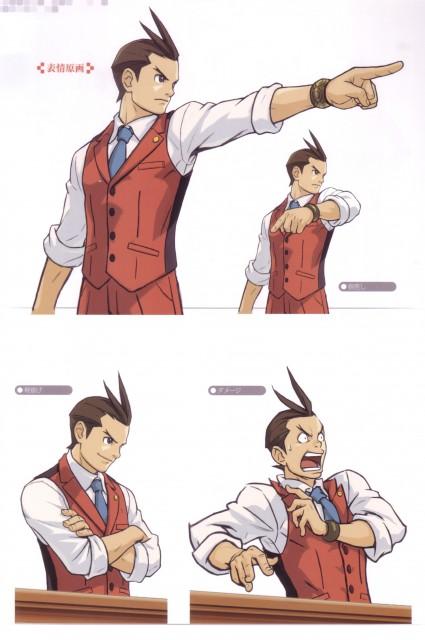 Capcom, Art of Gyakuten Saiban - Odoroki, Ace Attorney, Apollo Justice