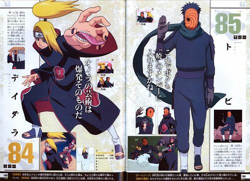 Studio Pierrot, Naruto, Naruto Juunen Hyakunin, Obito Uchiha, Deidara