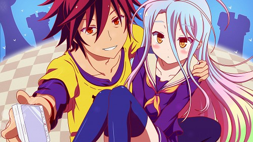 Yuu Kamiya, Madhouse, No Game No Life, Shiro (No Game No Life), Sora (No Game No Life) Wallpaper