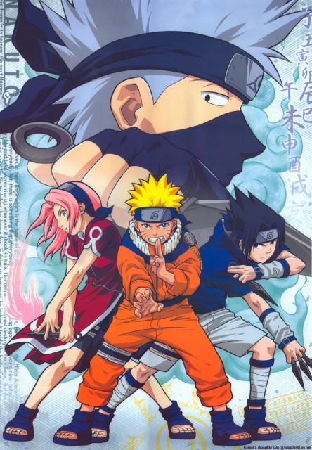 Studio Pierrot, Naruto, Sakura Haruno, Naruto Uzumaki, Sasuke Uchiha
