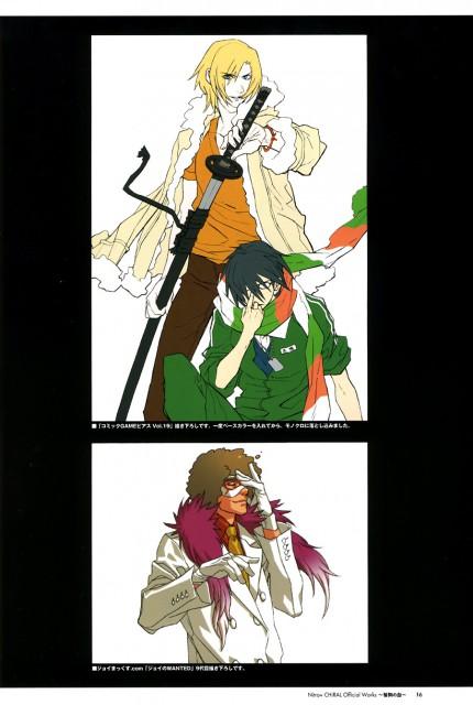 A-1 Pictures, Nitro+, Togainu no Chi, Rin (Togainu no Chi), Keisuke