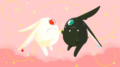 CLAMP, Mokona, Vector Art Wallpaper