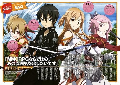 Tetsuya Kawakami, A-1 Pictures, Sword Art Online, Pina, Asuna Yuuki