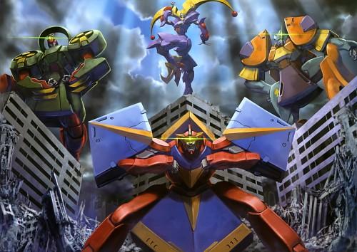 Sunrise (Studio), Mobile Fighter G Gundam, Gundam Perfect Files