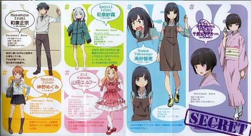 Hiro Kanzaki, Eromanga-sensei, Megumi Jinno, Elf Yamada, Sagiri Izumi