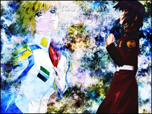 Sunrise (Studio), Mobile Suit Gundam SEED Destiny, Athrun Zala, Cagalli Yula Athha Wallpaper