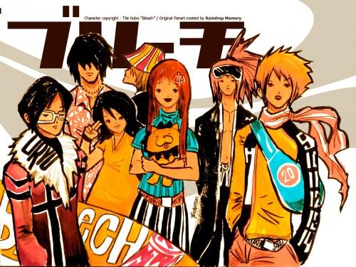 Kubo Tite, Studio Pierrot, Bleach, Yasutora Sado, Uryuu Ishida Wallpaper