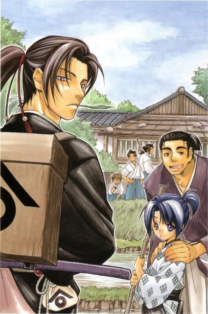 Nanae Chrono, Peacemaker Kurogane, Isami Kondou (Peacemaker Kurogane), Toshizou Hijikata (Peacemaker Kurogane), Shinpachi Nagakura (Peacemaker Kurogane)