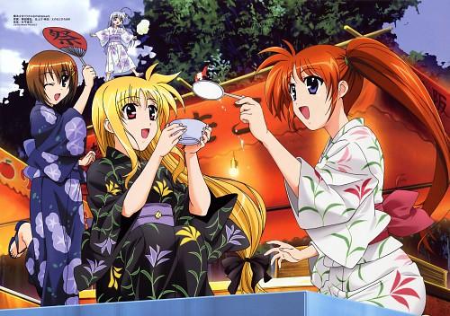 Seven Arcs, Mahou Shoujo Lyrical Nanoha StrikerS, Hayate Yagami, Fate Testarossa, Nanoha Takamachi