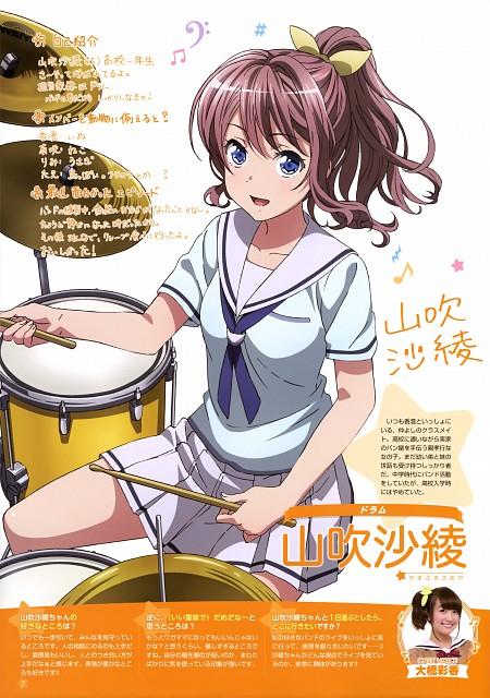 Studio Hibari, Bang Dream!, Saaya Yamabuki (Bang Dream!), Newtype Magazine