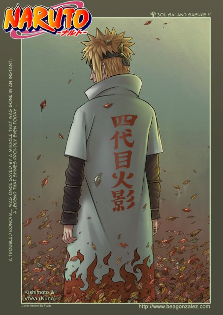 Studio Pierrot, Naruto, Minato Namikaze, Chapter Cover, Colorizations