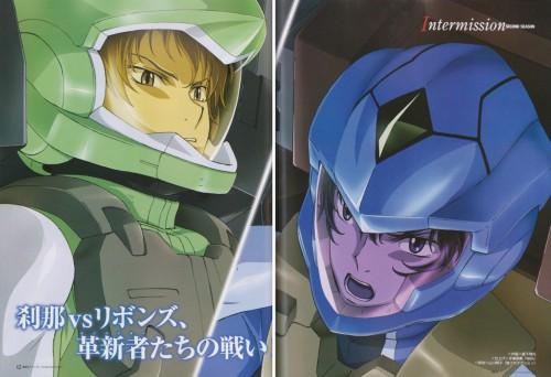 Mobile Suit Gundam 00, Ribbons Almark, Setsuna F. Seiei