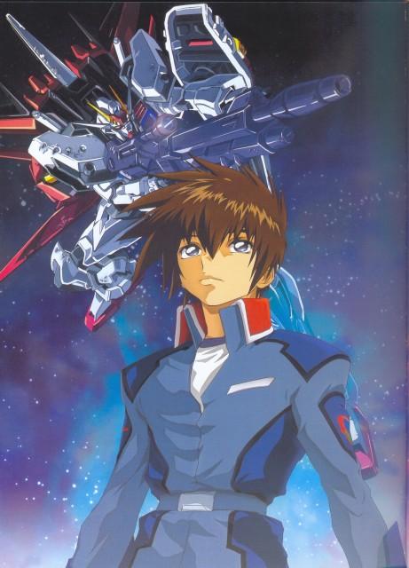 Hisashi Hirai, Sunrise (Studio), Mobile Suit Gundam SEED, Hisashi Hirai Illustration Works, Kira Yamato
