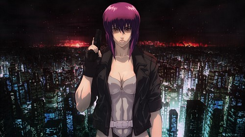 Masamune Shirow, Production I.G, Ghost in the Shell, Motoko Kusanagi Wallpaper