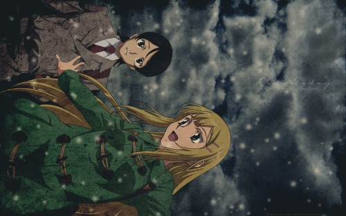 Sunrise (Studio), Mobile Suit Gundam 00, Saji Crossroad, Louise Halevy Wallpaper