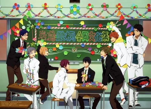 Futoshi Nishiya, Kyoto Animation, Free!, Rei Ryuugazaki, Momotarou Mikoshiba