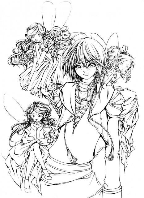 Seirei no Moribito, Member Art, Original