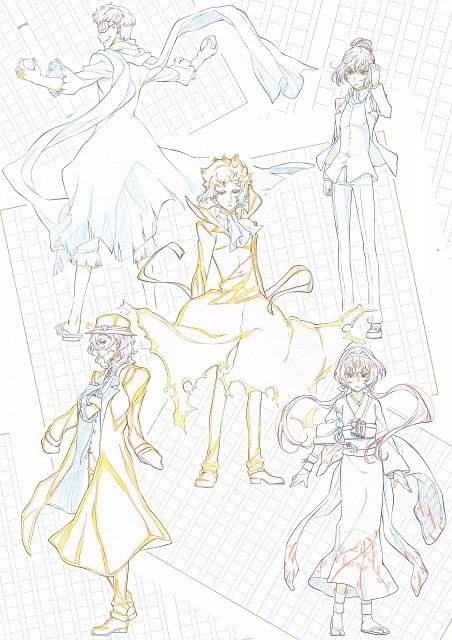 BONES, Bungou Stray Dogs, Ryuunosuke Akutagawa, Character Sheet
