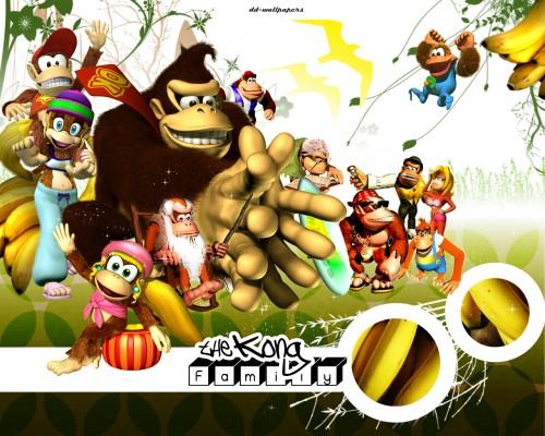 Nintendo, Donkey Kong, Donkey Kong (Character), Donkey Kong Jr. Wallpaper
