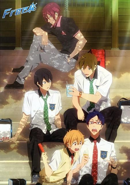 Kyoto Animation, Free!, Rin Matsuoka, Rei Ryuugazaki, Nagisa Hazuki
