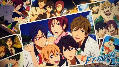 Kyoto Animation, Free!, Haruka Nanase (Free!), Rei Ryuugazaki, Rin Matsuoka Wallpaper