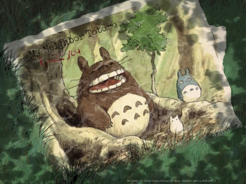 Studio Ghibli, My Neighbor Totoro, Totoro Wallpaper