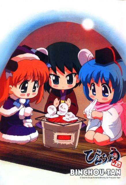 Takahito Ekusa, Studio DEEN, Bincho-tan, Bincho-tan (Character), Ren-tan