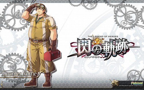 Falcom, The Legend of Heroes: Zero no Kiseki, Georges Nome, Official Wallpaper