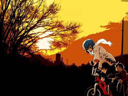 Yoshiyuki Sadamoto, Neon Genesis Evangelion, Shinji Ikari, Rei Ayanami Wallpaper