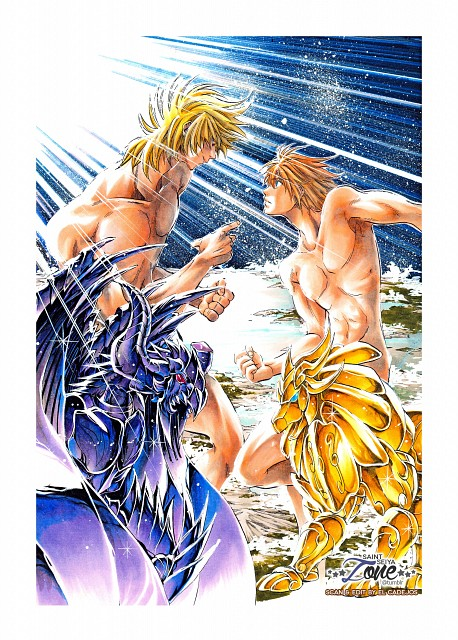 Shiori Teshirogi, TMS Entertainment, Saint Seiya, Saint Seiya: The Lost Canvas, Leo Regulus