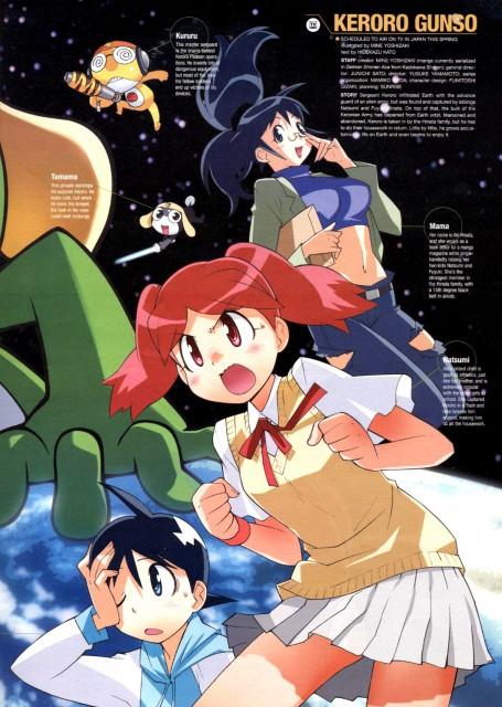 Mine Yoshizaki, Keroro Gunsou, Aki Hinata, Fuyuki Hinata, Natsumi Hinata