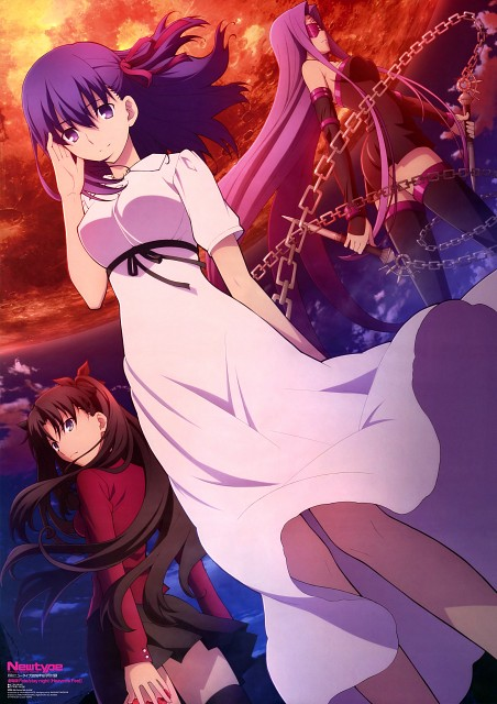Yasuhisa Katou, TYPE-MOON, Fate/stay night, Rin Tohsaka, Rider (Fate/stay night)