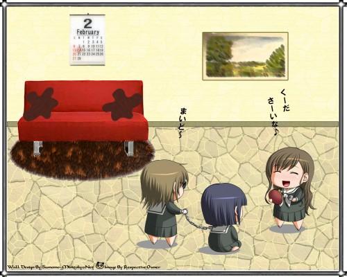 Studio Deen, Maria-sama ga Miteru, Noriko Nijou, Shimako Toudou, Sei Satou Wallpaper