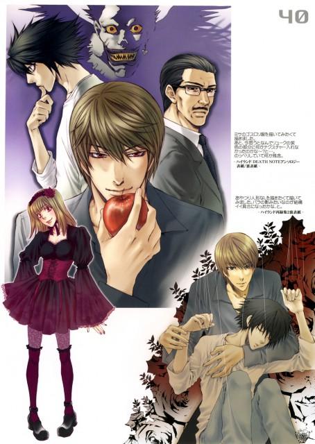 Nekota Yonezou, Death Note, Gashuu, L, Ryuk