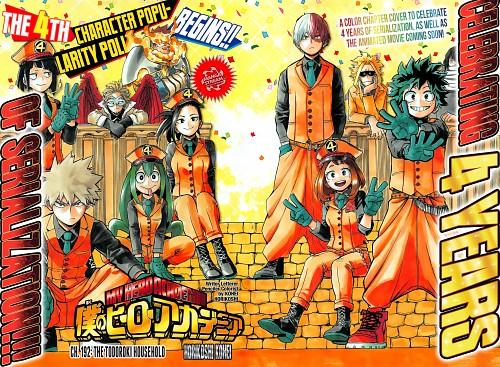 Kouhei Horikoshi, BONES, Boku no Hero Academia, Shouto Todoroki, Kyouka Jirou
