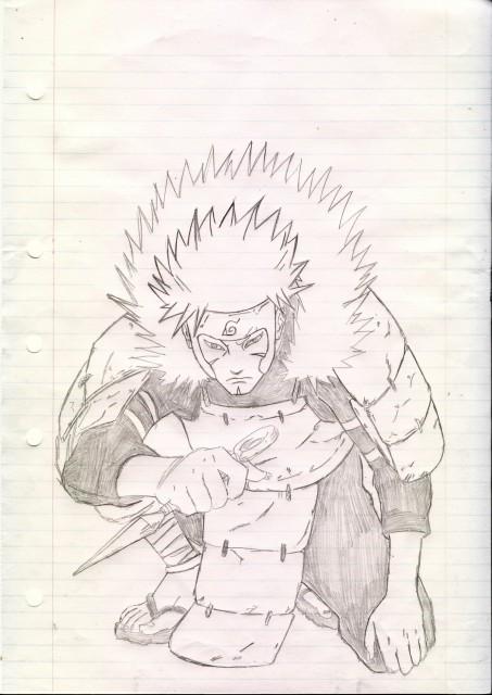 Studio Pierrot, Naruto, Tobirama Senju, Member Art