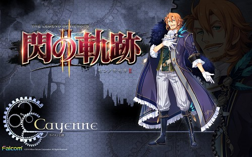 Falcom, The Legend of Heroes: Zero no Kiseki, Cayenne, Official Wallpaper