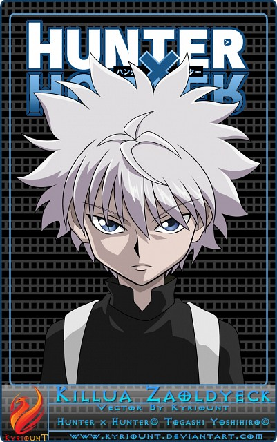 Yoshihiro Togashi, Hunter x Hunter, Killua Zaoldyeck, Vector Art