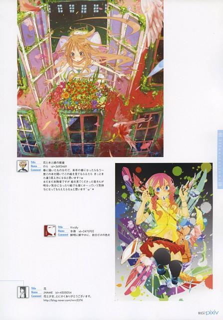 Namo Mizumori, Nora (Mangaka), Pixiv Girls Collection 2012, Pixiv