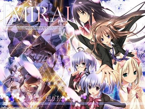 Purple Software, Mirai Nostalgia, Nono Kudo, Uta Hatori, Anna (Mirai Nostalgia)