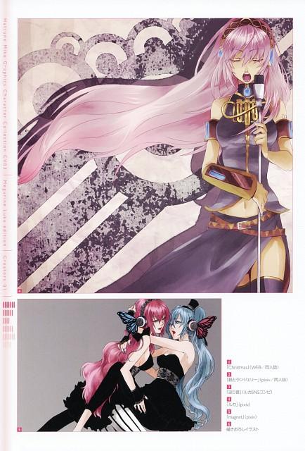 Rioko, CV03 Megurine Luka, Vocaloid, Miku Hatsune, Luka Megurine