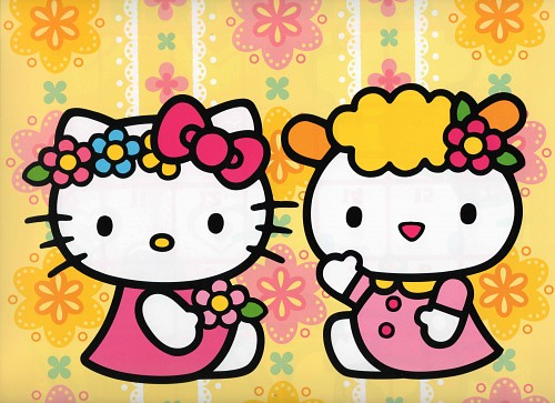 Sanrio, Hello Kitty (Series), Kitty White, Fifi (Hello Kitty)