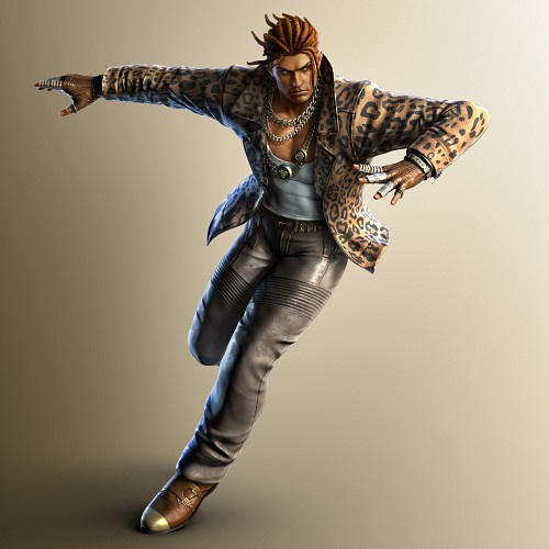 Namco, Tekken, Eddy Gordo, Official Digital Art