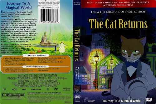 Studio Ghibli, The Cat Returns, Muta, Baron Humbert Von Gikkingen, Haru Yoshioka